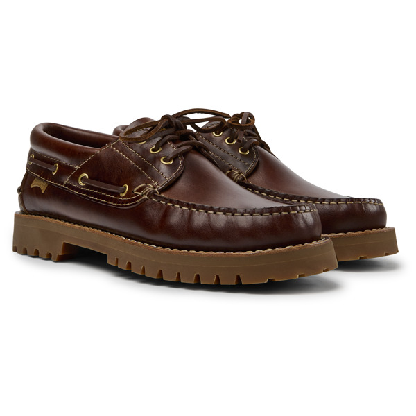Camper Nautico Brown Casual Shoes Men 15233-001