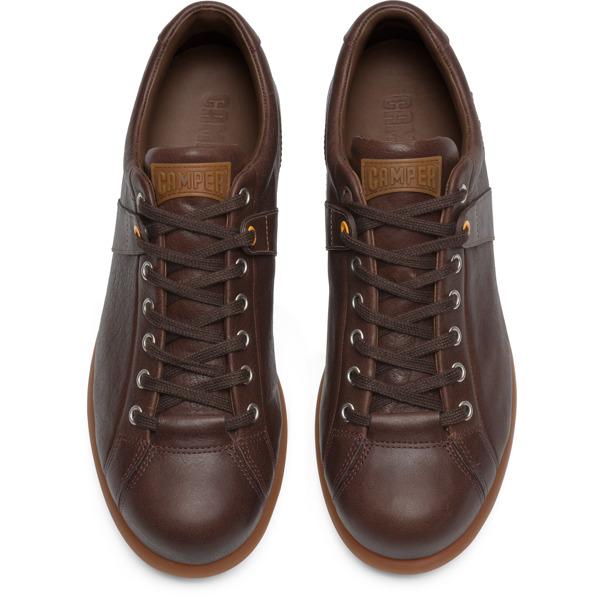 Camper Pelotas Brown Sneakers Men 17408-086