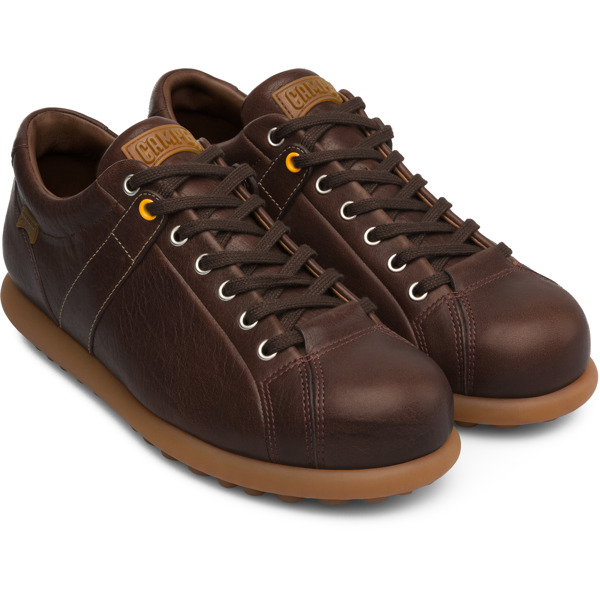 Camper Pelotas Brown Sneakers Men 17408-086