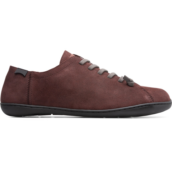 Camper Peu Burgundy Casual Shoes Men 17665-186