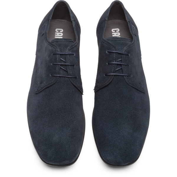 Camper Mauro Blue Formal Shoes Men 18222-034