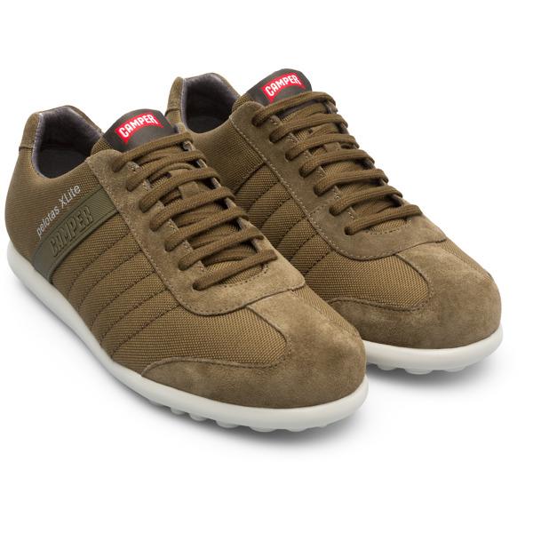 Camper Pelotas XLite Green Sneakers Men 18302-086