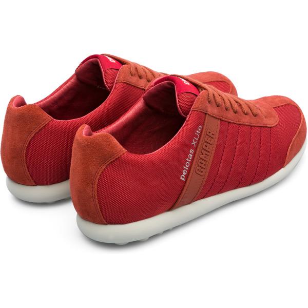 Camper Pelotas XLite Red Casual Shoes Men 18302-092