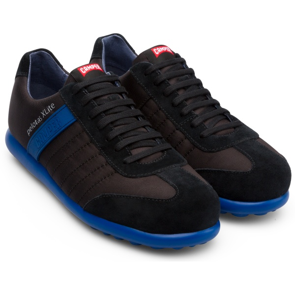 Camper Pelotas XLite Black Sneakers Men 18302-114