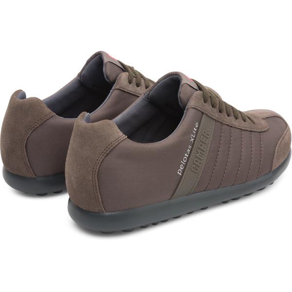 Camper Pelotas XLite Brown Gray Sneakers Men 18302-117