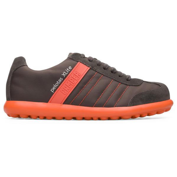 Camper Pelotas XLite Brown Gray Sneakers Men 18302-129