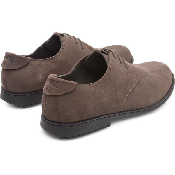 Camper Mil Grey Formal Shoes Men 18552-077