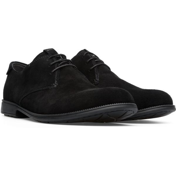 Camper Mil Black Formal Shoes Men 18552-083