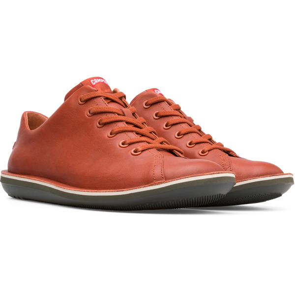 Camper Beetle Brown Casual Shoes Men 18648-067