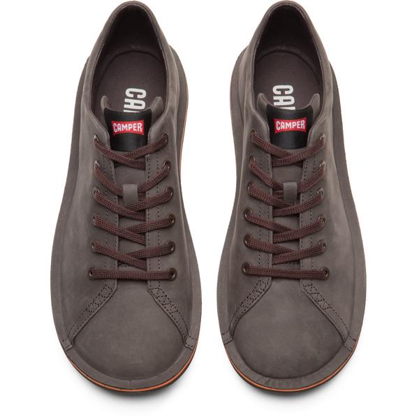 Camper Beetle Brown Gray Casual Shoes Men 18648-070