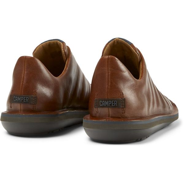 Camper Beetle Brown Casual Shoes Men 18751-049