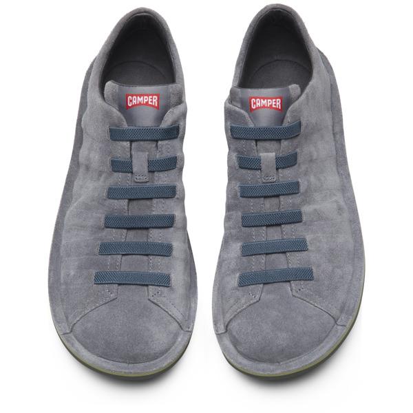 Camper Beetle Grey Casual Shoes Men 18751-057