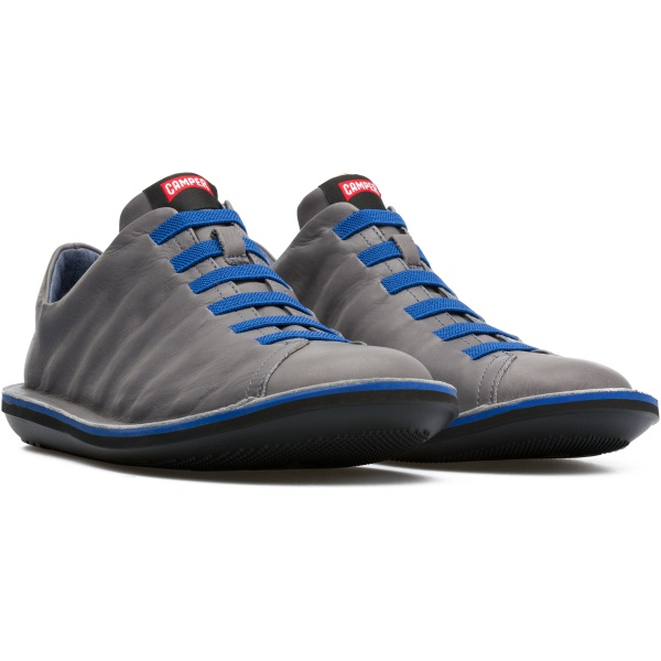 Camper Beetle Grey Casual Shoes Men 18751-060