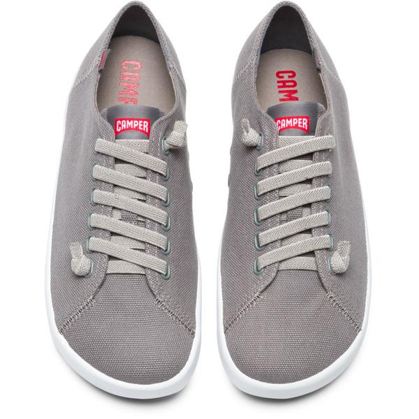 Camper Peu Rambla Grey Sneakers Men 18869-052