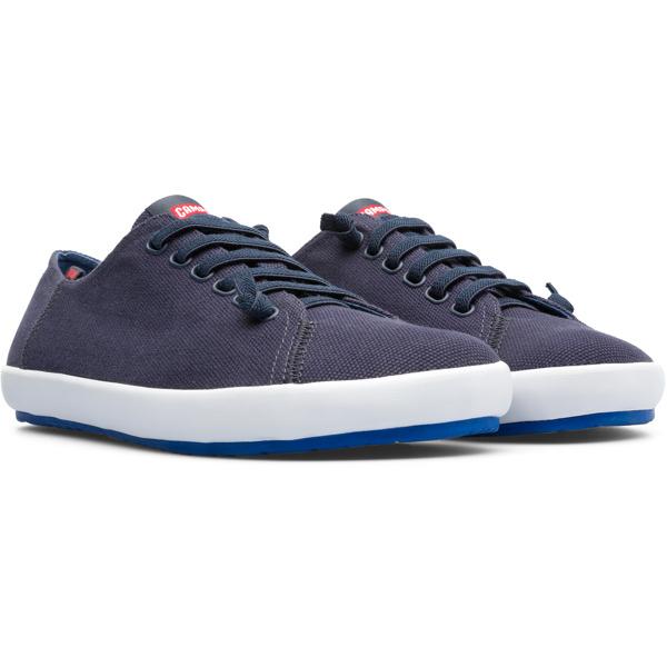 Camper Peu Rambla Blue Sneakers Men 18869-058