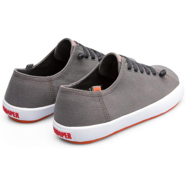 Camper Peu Rambla Grey Sneakers Men 18869-059