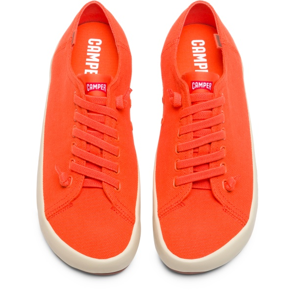 Camper Peu Rambla Orange Sneakers Men 18869-064
