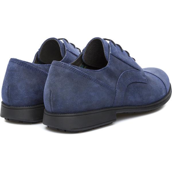 Camper Neuman Blue Formal Shoes Men 18979-002