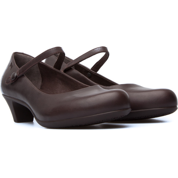 Camper Helena Brown Formal Shoes Women 20202-086