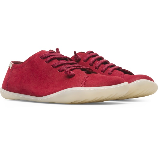 Camper Peu Red Casual Shoes Women 20848-163