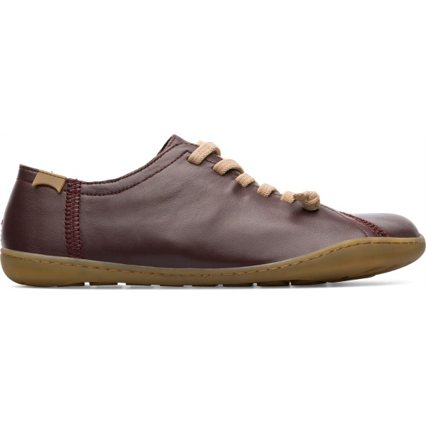 Camper Peu Burgundy Casual Shoes Women 20848-171