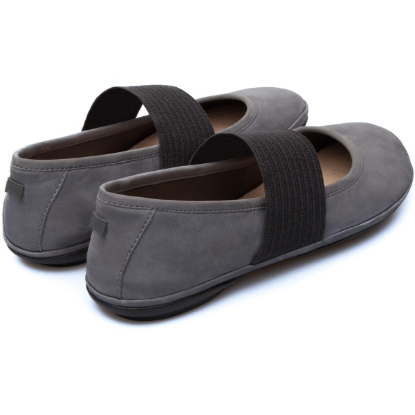 Camper Right Grey Casual Shoes Women 21595-039