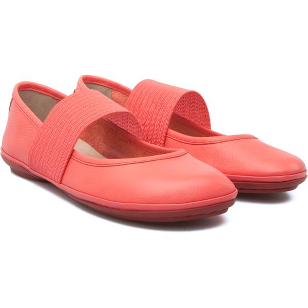 Camper Right Pink Ballerinas Women 21595-080