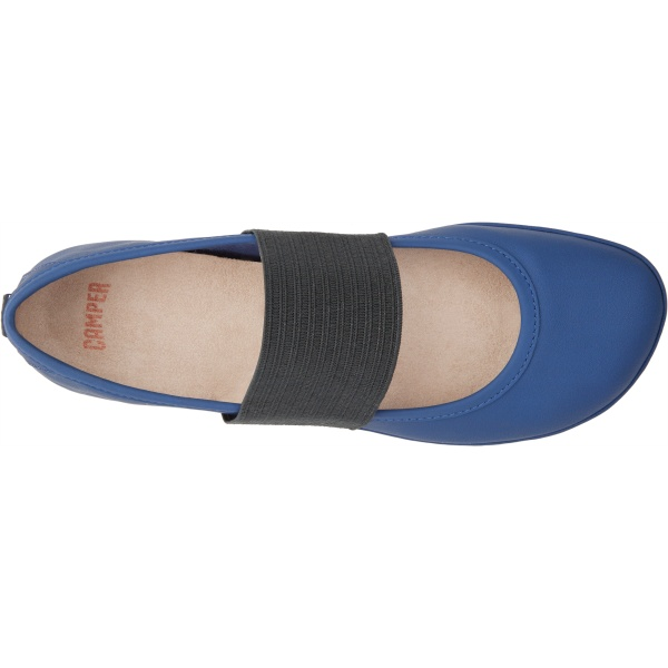 Camper Right Blue Ballerinas Women 21595-081