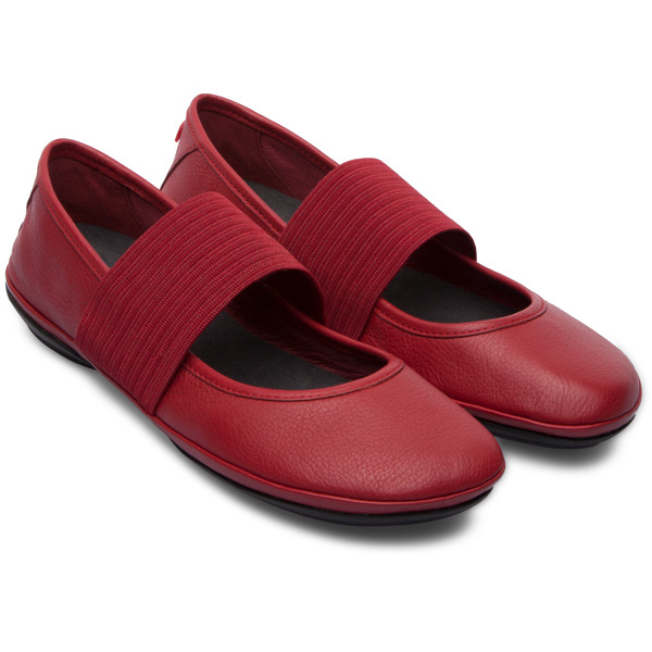 Camper Right Red Ballerinas Women 21595-095
