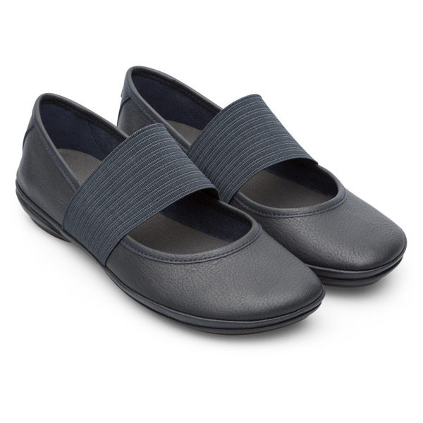 Camper Right Blue Ballerinas Women 21595-104