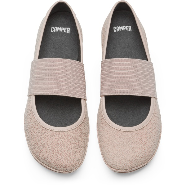 Camper Right Pink Ballerinas Women 21595-108
