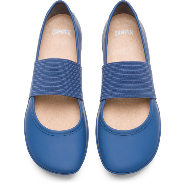 Camper Right Blue Ballerinas Women 21595-115