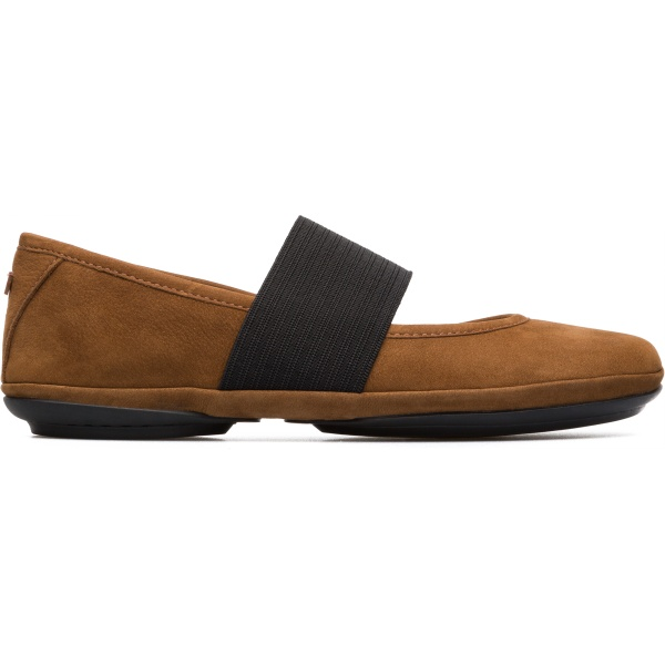 Camper Right Brown Casual Shoes Women 21595-121