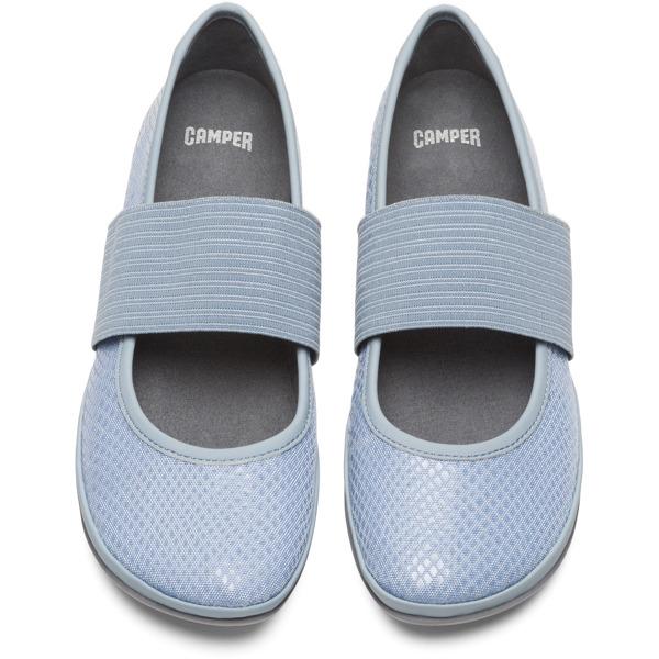 Camper Right Blue Ballerinas Women 21595-136