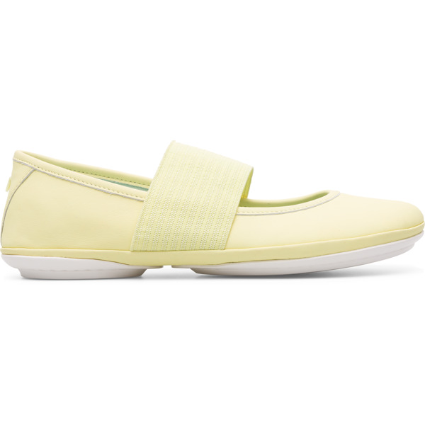 Camper Right Yellow Ballerinas Women 21595-137