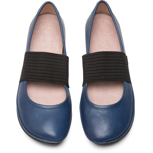 Camper Right Blue Ballerinas Women 21595-162