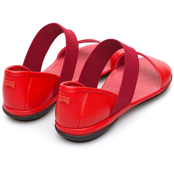 Camper Right Red Casual Shoes Women 21735-051