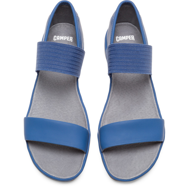 Camper Right Blue Casual Shoes Women 21735-054