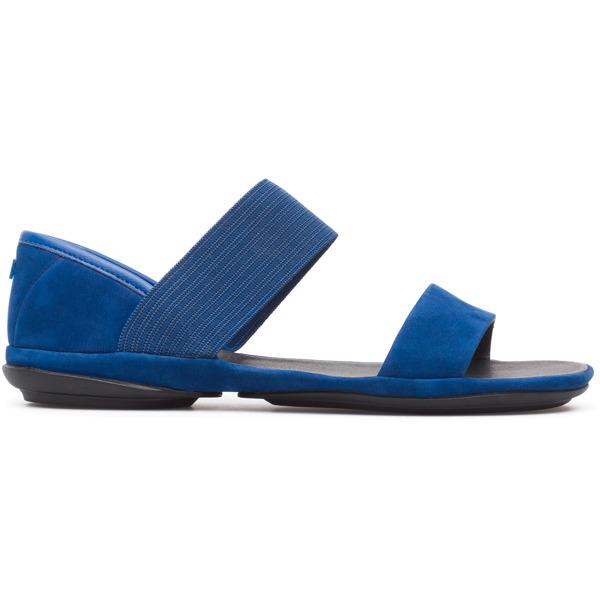 Camper Right Blue Sandals Women 21735-058