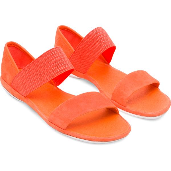 Camper Right Orange Sandals Women 21735-059