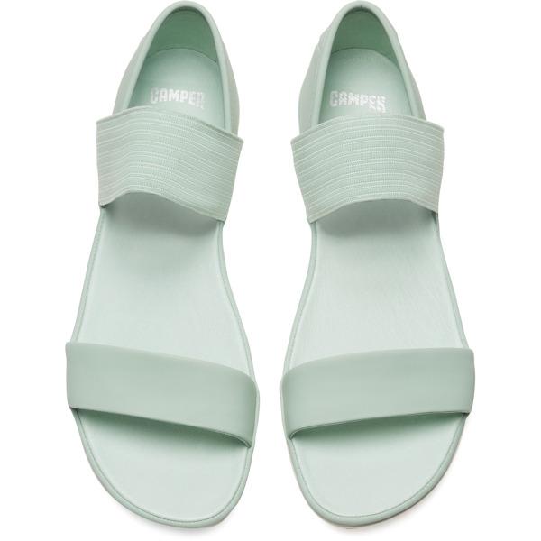 Camper Right Green Sandals Women 21735-063
