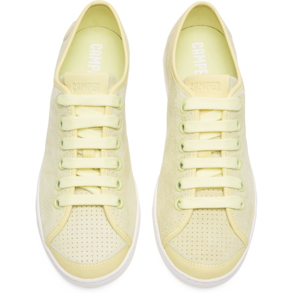 Camper Uno Yellow Sneakers Women 21815-054