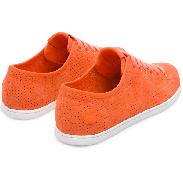 Camper Uno Orange Sneakers Women 21815-055