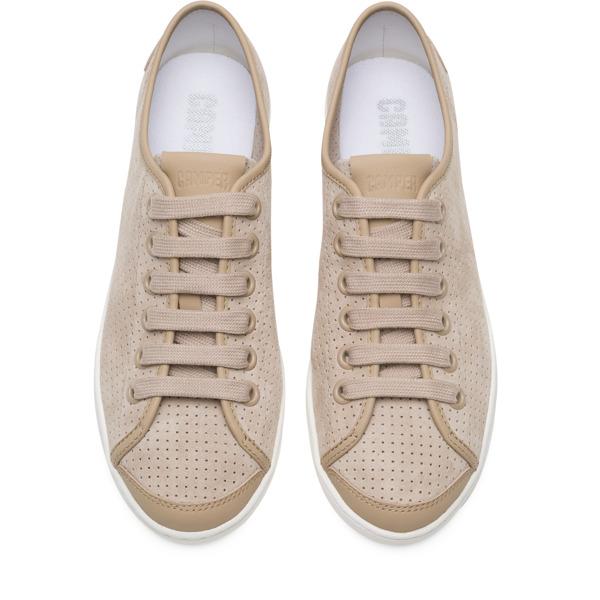 Camper Uno Beige Sneakers Women 21815-059