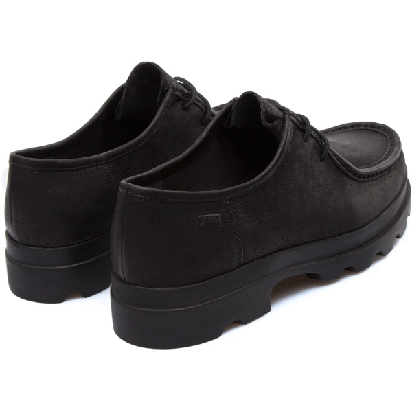 Camper Mil Black Flat Shoes Women 22095-026