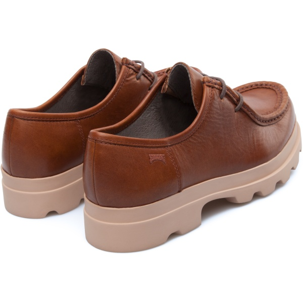 Camper Mil Brown Flat Shoes Women 22095-027