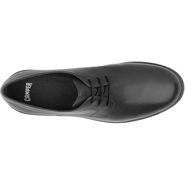 Camper Bowie Black Flat Shoes Women 22101-259