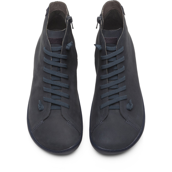 Camper Peu Grey Ankle Boots Men 36411-083