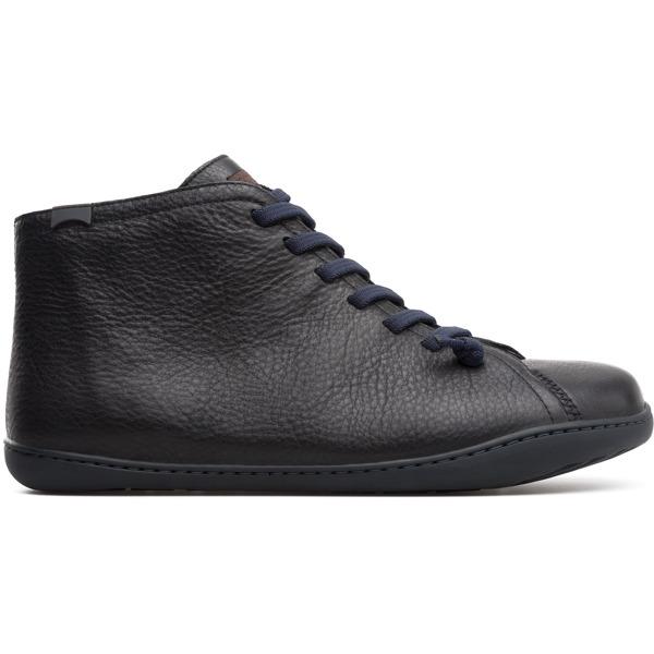 Camper Peu Black Ankle Boots Men 36411-086