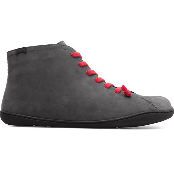 Camper Peu Grey Ankle Boots Men 36411-092